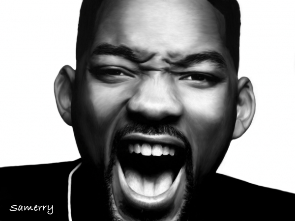 comment dessiner will smith